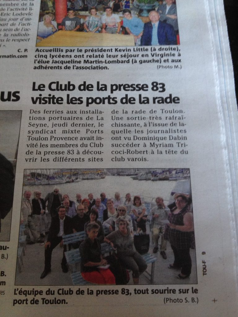 Mention club de la presse 83