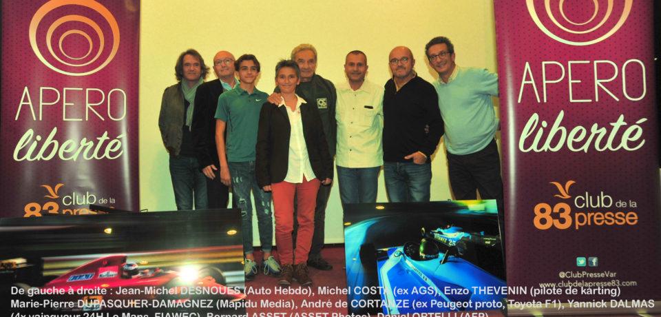 Franc succès pour l'Apéro Liberté « F1 » du Club de la Presse 83